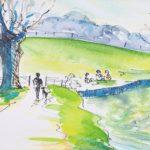 Sue Rapley Artist The Watercolour Collection - artwork detail