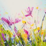 Sue Rapley Artist The Serenity Collection close up detail