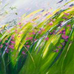 Sue Rapley Artist The Serenity Collection close up detail signature