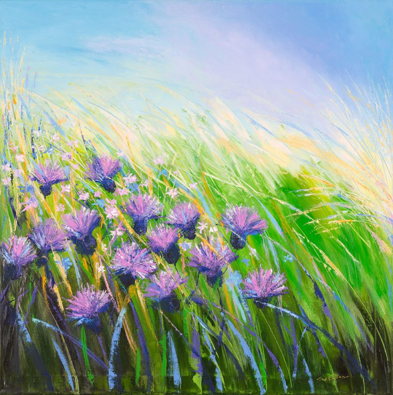 Sue Rapley Artist The Gift Collection Meadow Dance print